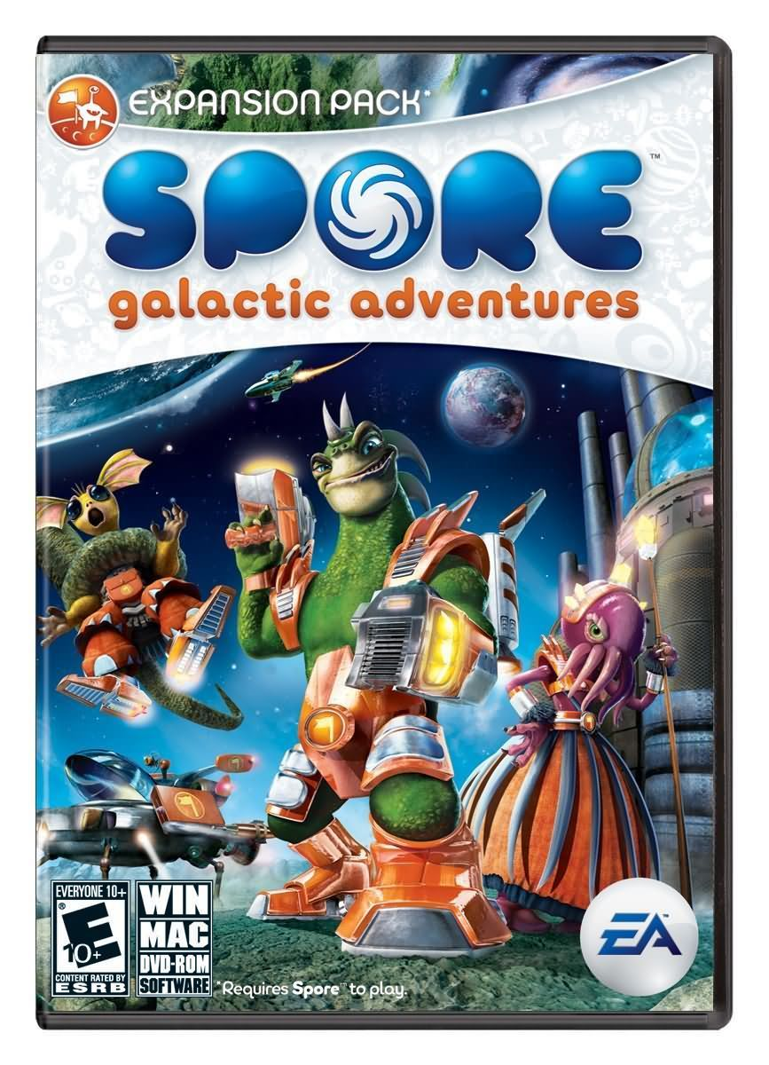 Spore - Космические приключения 2009 + Crack + оригинал Spore (RUS