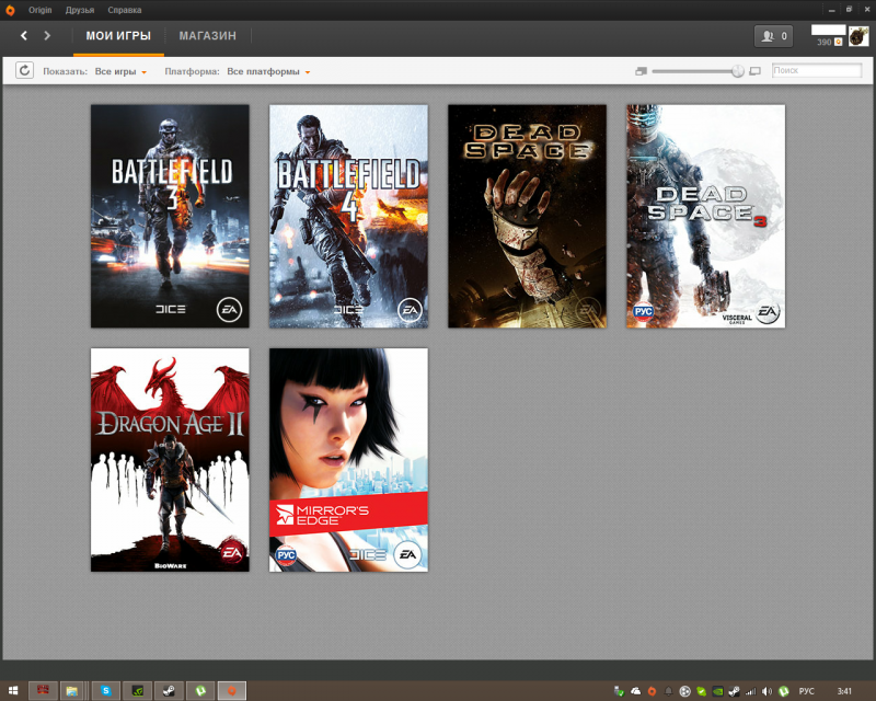 Аккаунт Origin с BF43 DEADSPACE13 MIRRORS EDGE на DARK SOULS 2