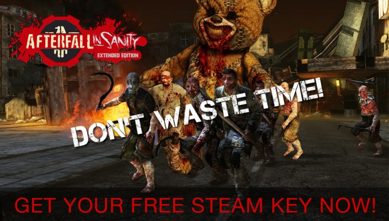Free Afterfall Insanity Steam Key от Indiegala