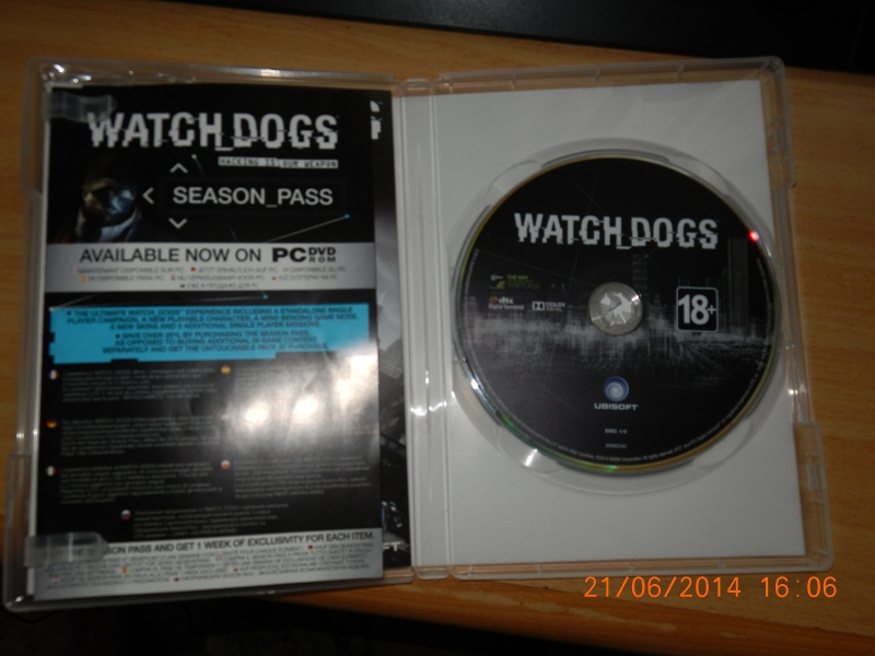 продам watch dogs личный акк