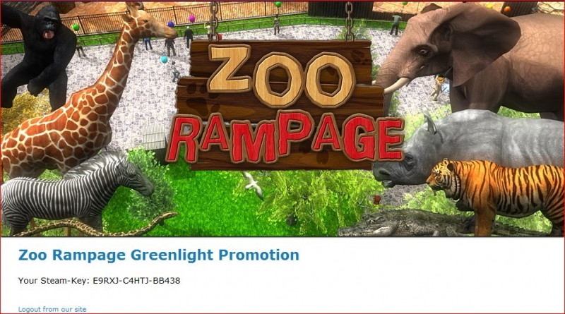 Zoo Rampage Free Steam Key