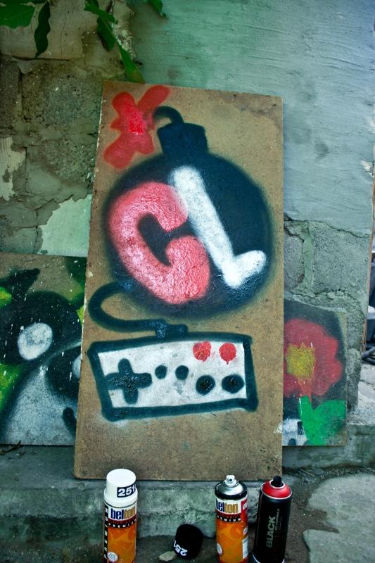 Тема для фотографий работ на конкурс граффити