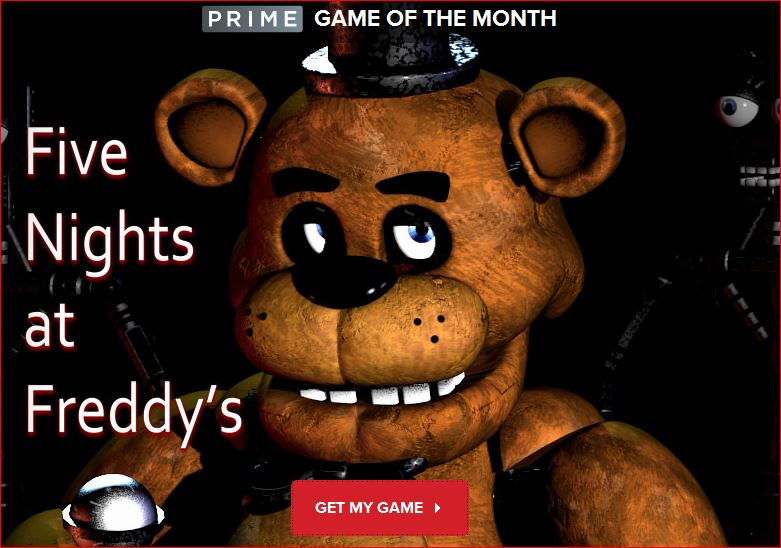 IGN Prime Free Game of the Month - Five Nights at Freddy's