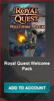Royal Quest Welcome Pack Free Steam Key