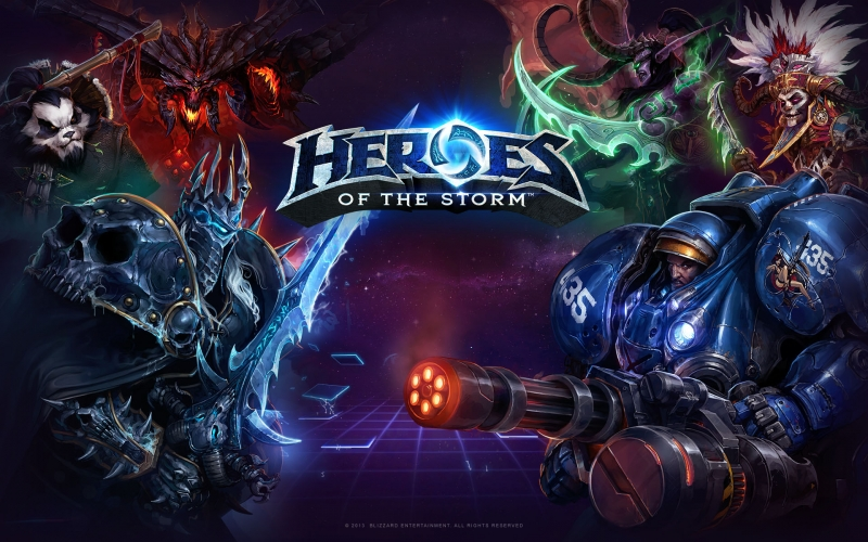 Heroes of the Storm ХАЛЯВА