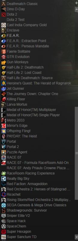 Продаю личный аккаунт Steam