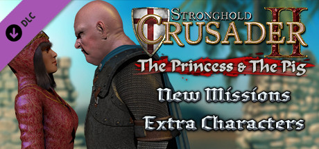 Win 1 of 500 Steam keys DLC Stronghold Crusader 2: The Princess and The Pig