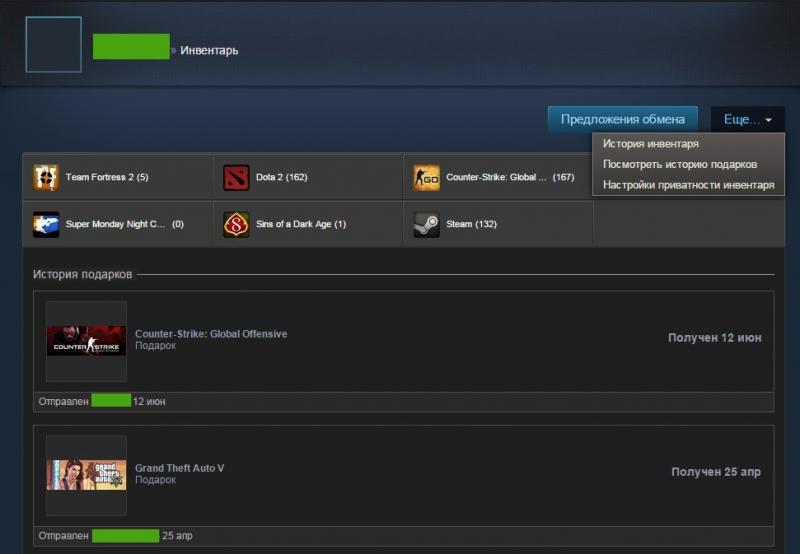 Продажа Игр Steam