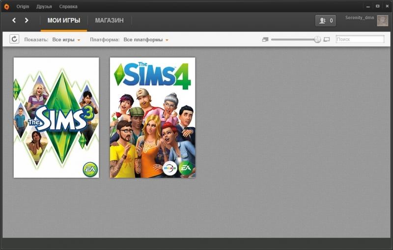 Аккаунт с Sims3 и Sims4