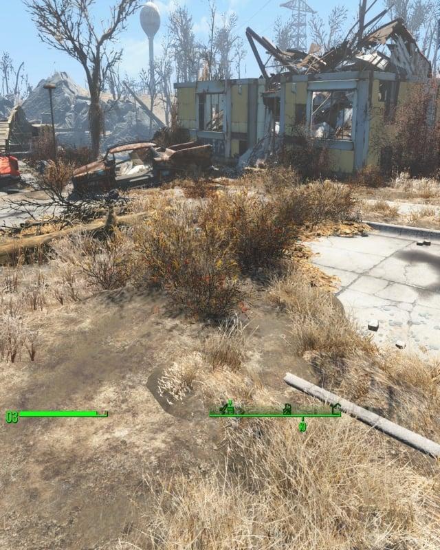 Сместилось ВСЁ Fallout 4
