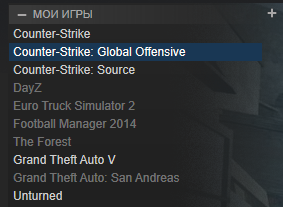 > CS:GO + GTA 5 + THE FOREST + MONEY IN STEAM