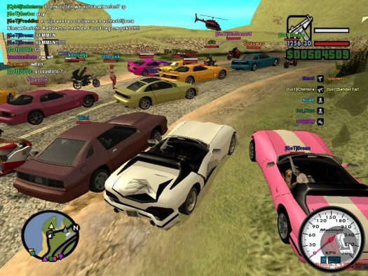 Grand Theft Auto: San Andreas (SA-MP мод)