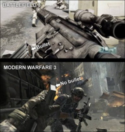 Battlefield 3 vs. Call Of Duty: Modern Warfare 3 (��������)