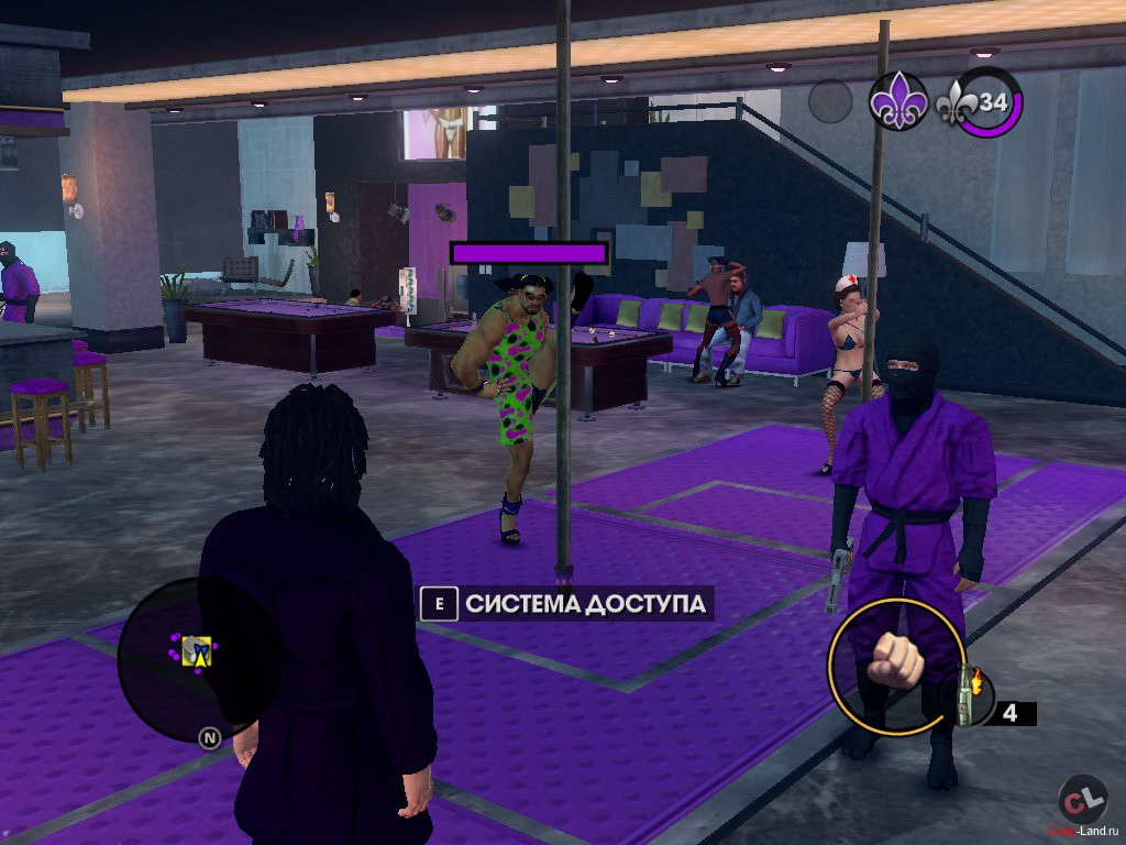 Saints row the third - $2000 rejoin the ranks of the most unholy saints around as you return to the row to