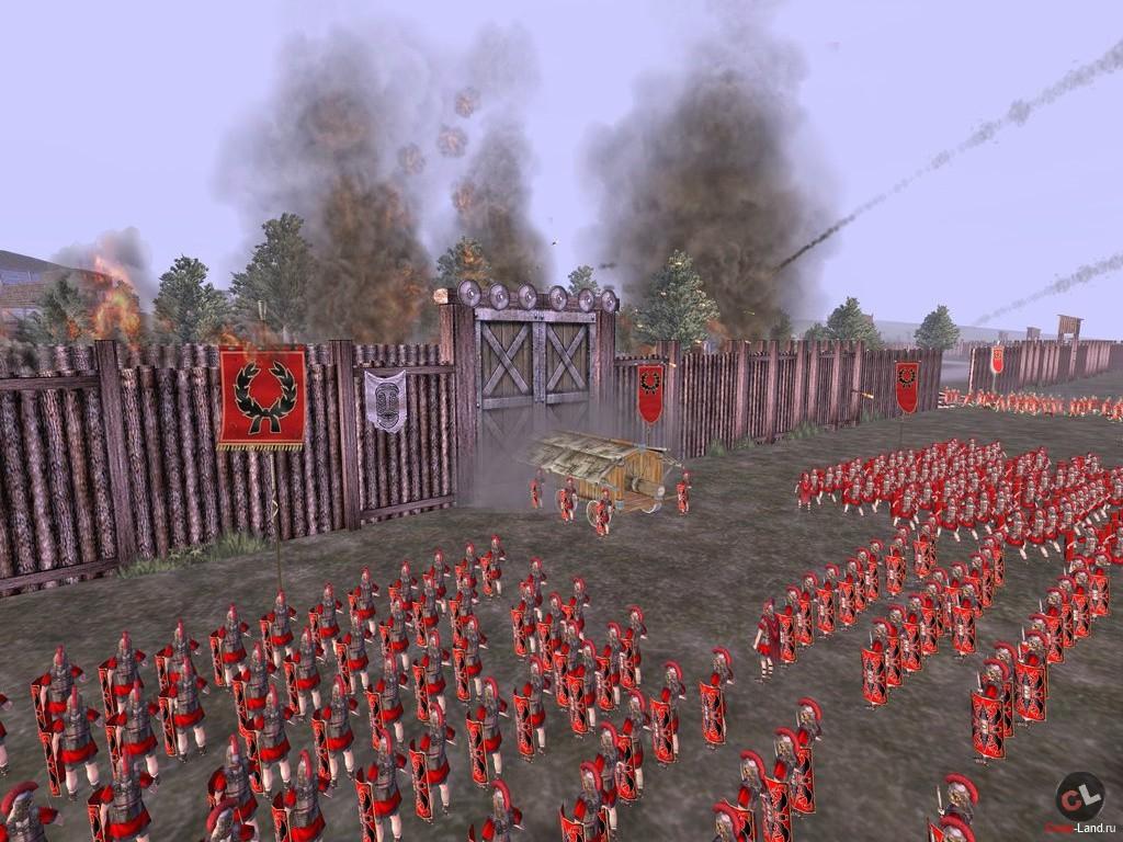 Rome Total War + мнение Пюрешки об игре.