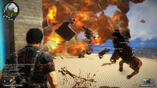 Начало открытого бета-тестирования Just Cause 2 Multiplayer