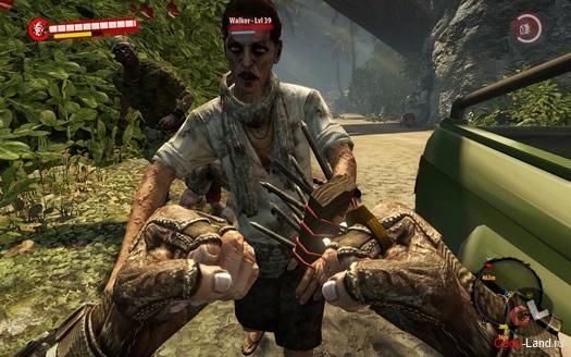 Dead Island(оружие из фиолетового черепа)Часть №2