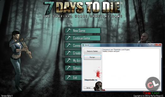 7 days to die (Zombie Manager v1.3)