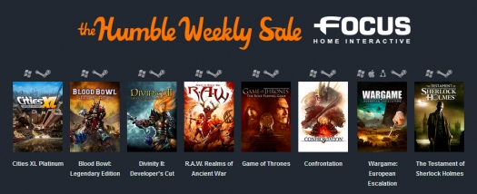 Humble Weekly Sale: Focus home interactive
