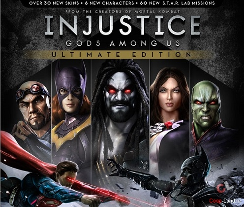 Injustice: Gods Among Us Ultimate Edition скоро выйдет на PC