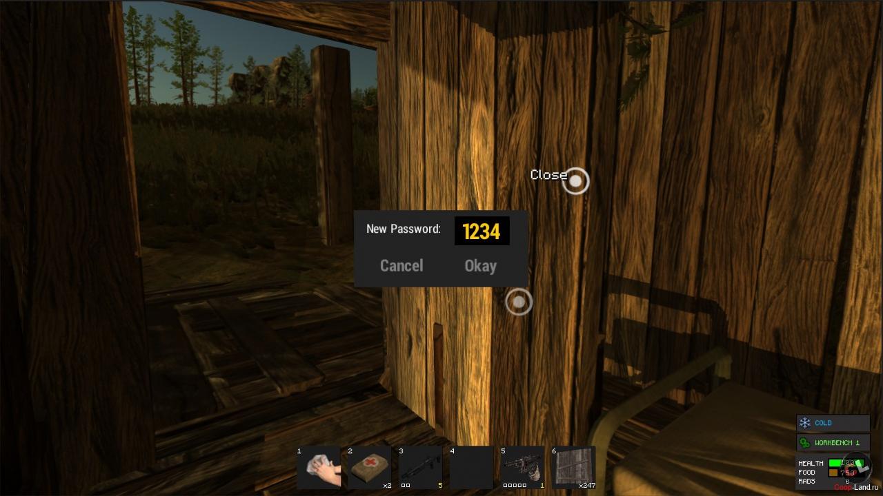 Гайд по Rust для начинающих - как сделать топор, построить дом, получить пушку