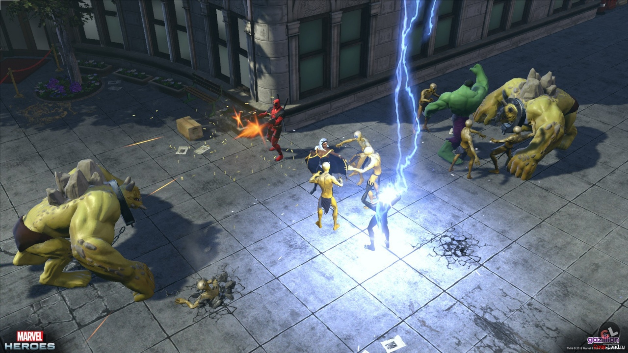 Marvel heroes marvel universe mmo
