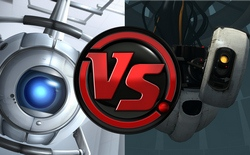 Wheatley vs GLaDOS