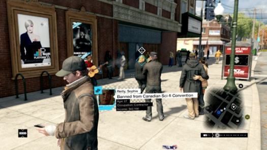 ������� ��������� ������ � Watch Dogs