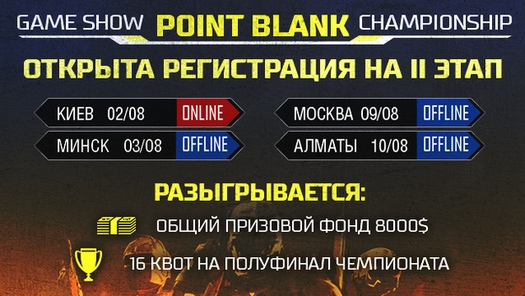 ������ ���� Game Show Point Blank Championship
