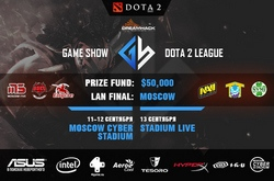 Game Show Dota 2 League: ��������� ���-������ � ������������