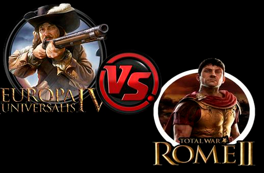 Europa Universalis 4 vs Total War Rome 2