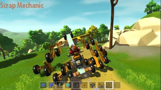Scrap Mechanic - песочница про создание механизмов