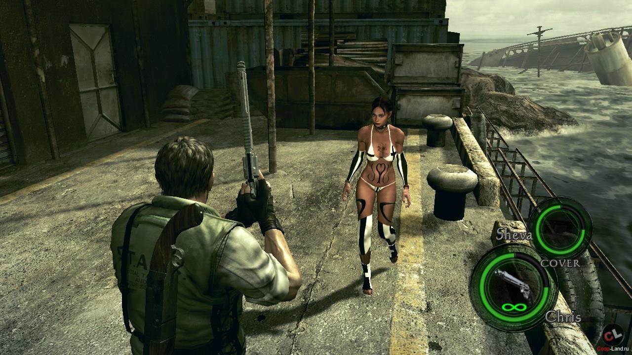 Руководство Запуска Resident Evil 5 по Сети