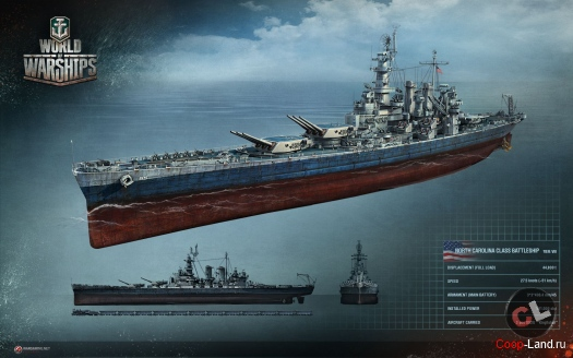 Морское сражение World of Warships vs Wind of Luck