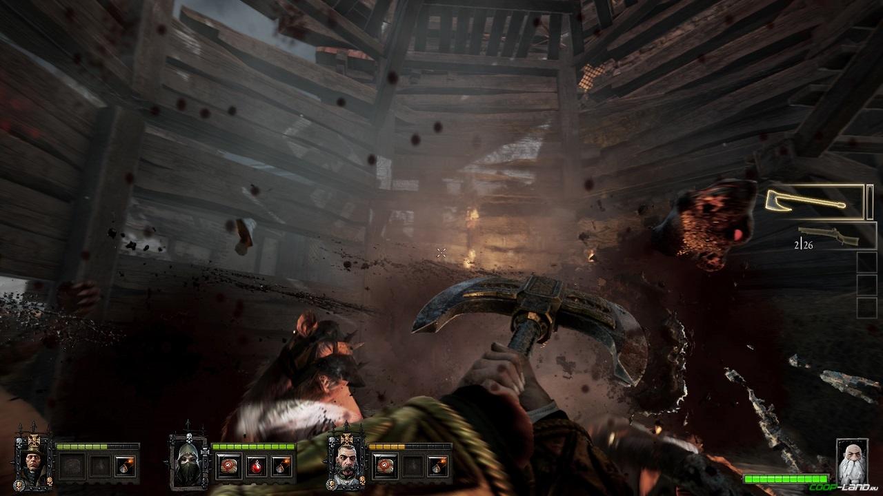 Warhammer end times vermintide играть по сети