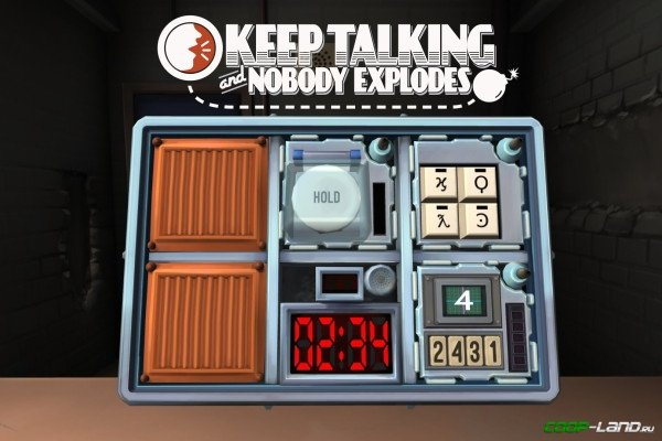 Keep talking and nobody explodes puts a smart twist on co-op.