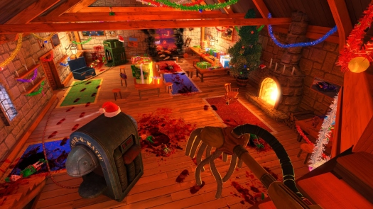 Скриншот из Viscera Cleanup Detail: Santa's Rampage