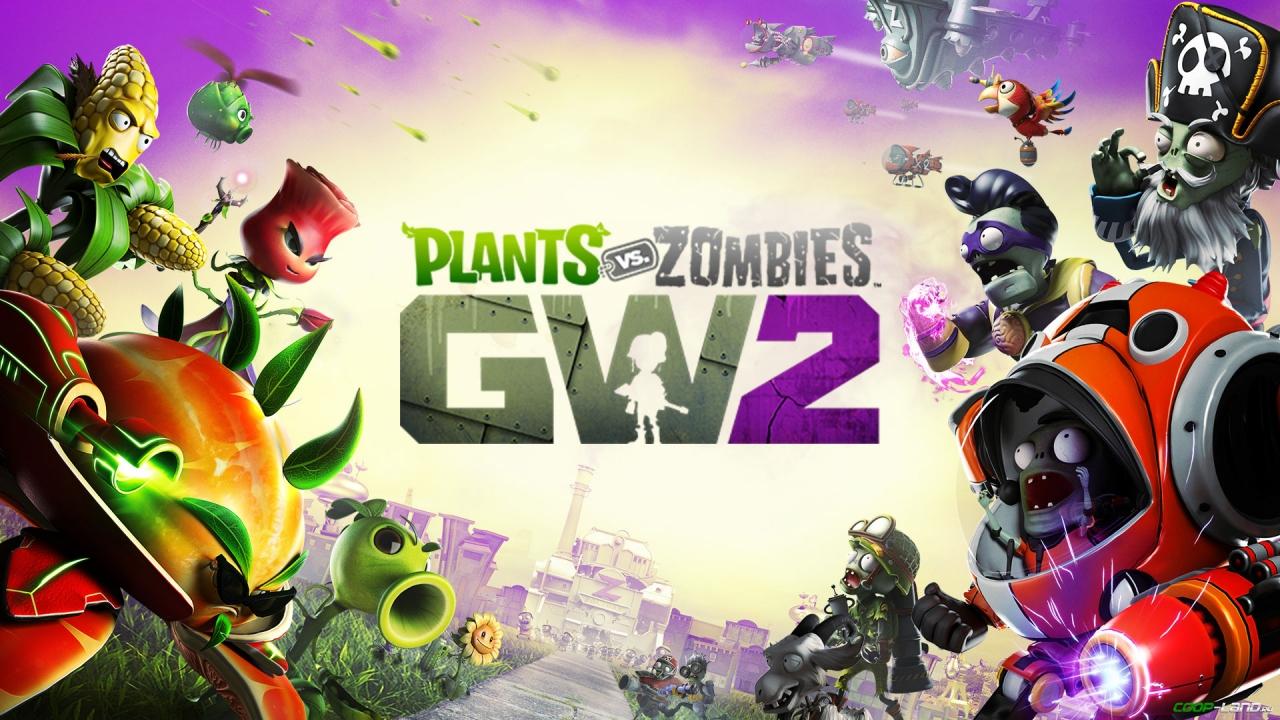 Plants vs zombies gw2 скачать на компьютер