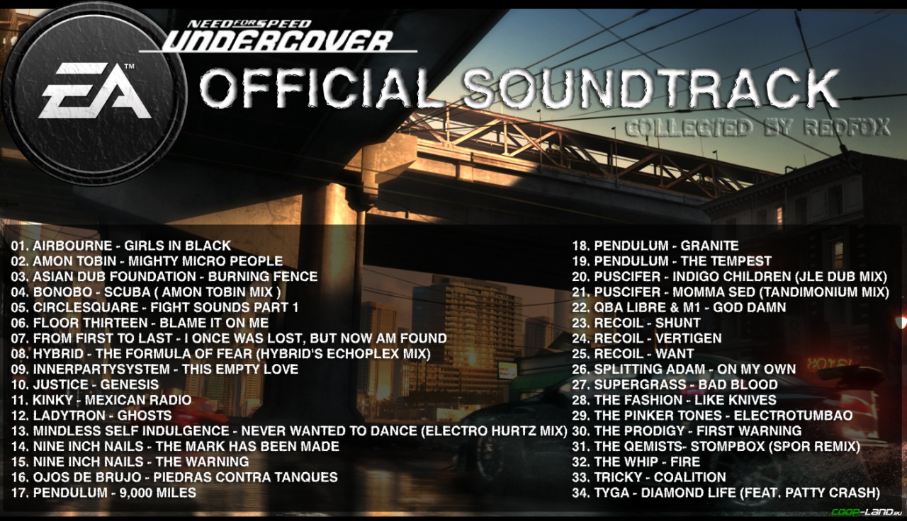Need for speed: undercover ost 10 blame it on me youtube.