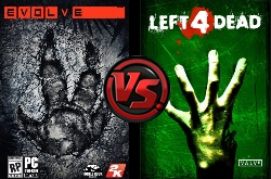 Evolve vs Left 4 Dead