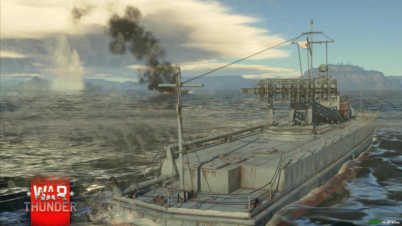 war thunder морских сражений