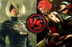 Bloodrayne vs YoRHa No.2 Type B