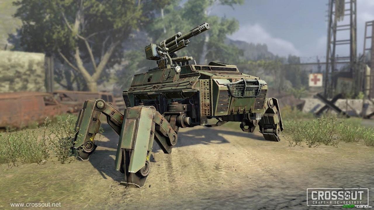 Crossout полностью готова к релизу на ПК, PS4 и Xbox One
