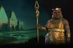 Нубию в Sid Meirers Civilization VI представит кандакия Аманиторе