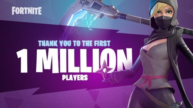 1 млн пользователей и дата релиза нового режима в Fortnite