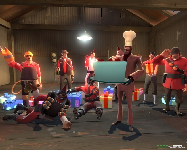 10 лет Team Fortress 2! Как менялась игра со времен 2007 года