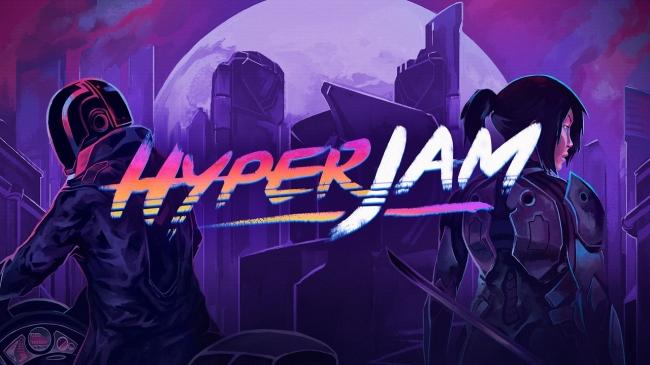 Hyper Jam – пропитанный эстетикой 80-х экшен на четверых поклонников катан и ракетных установок