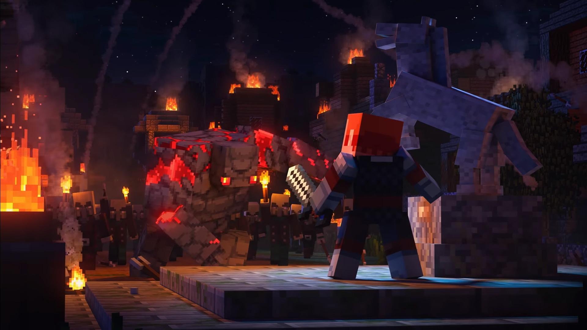 Minecraft Dungeons: кооперативный квест за кубической сферой в ...