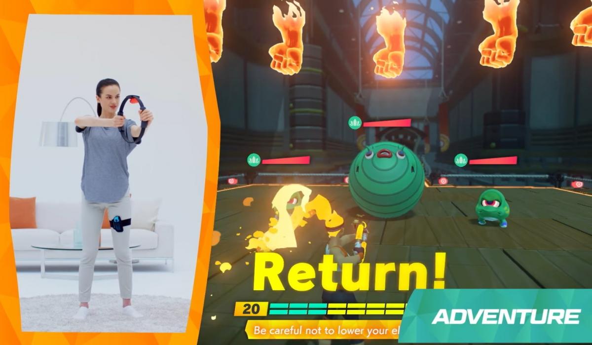 Обзор Ring Fit Adventure: трясем костями в новом безумии от Nintendo