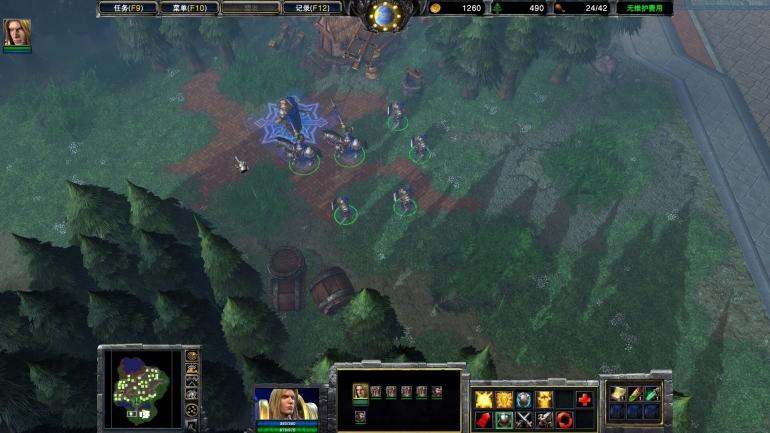 Warcraft III Quenching: исправляющий графику мод от китайцев